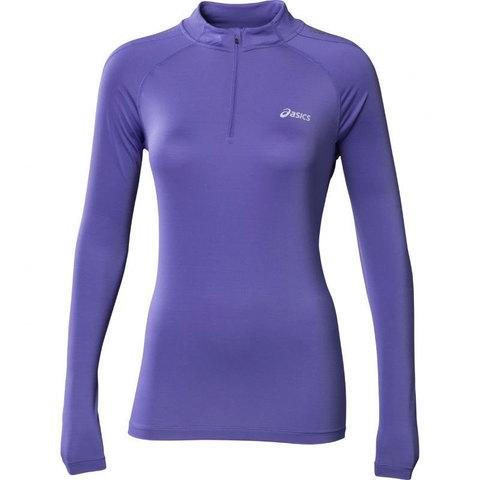 Рубашка Asics LS 1/2 Zip Top женская беговая