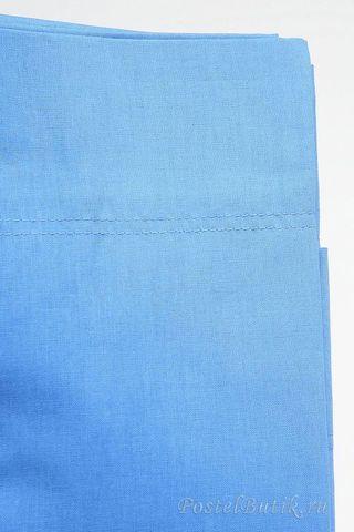 Наволочки 2шт 50х70 Caleffi Tinta Unita ярко-голубые