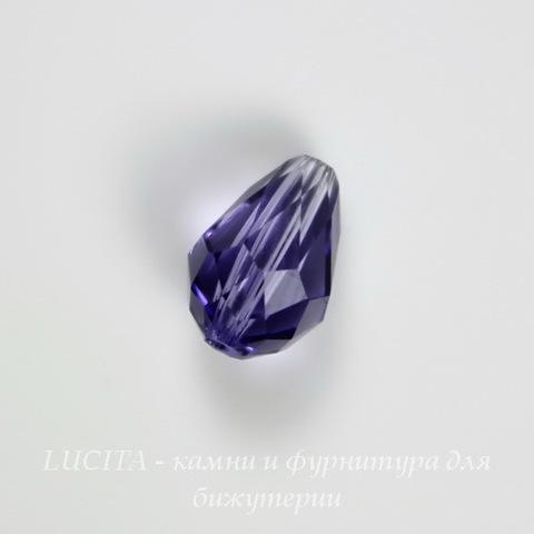 5500 Бусина - капля Сваровски Tanzanite  9х6 мм