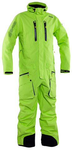Комбинезон горнолыжный 8848 Altitude Strike Ski Suit Lime мужской