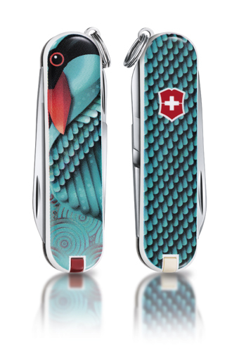 "Нож-брелок Victorinox Classic LE 2012, 58 мм, 7 функ, ""Spread Your Wings""  (0.6223.L1208)"