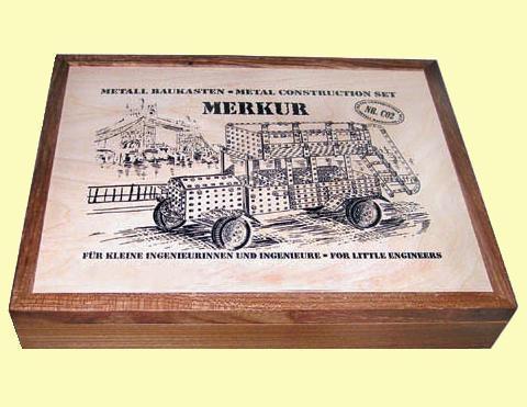 Merkur М-3383 Мет.конструктор CLASSIC C02 Set