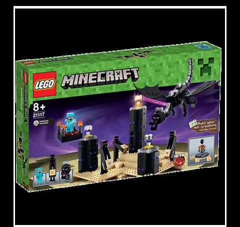 Лего Майнкрафт Дракон Края