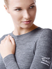 Комплект термобелья из шерсти мериноса Norveg Soft Grey Melange женский