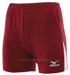 Женские волейбольные шорты Mizuno W's Trade Short 362 красные (79RW362 62) фото