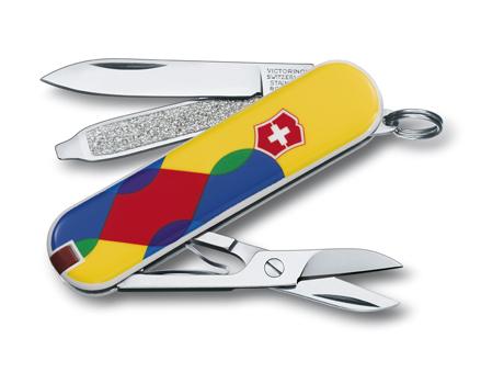"Нож-брелок Victorinox Classic LE 2012, 58 мм, 7 функ, ""Yusta Posed""  (0.6223.L1209)"