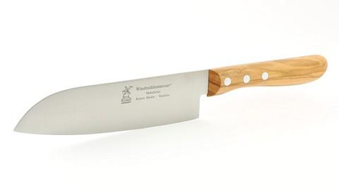 Нож Santoku 165 (олива) Robert Herder Solingen