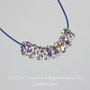 77504 Бусина - рондель Сваровски Crystal AB (цвет - серебро) 4х2 мм ()