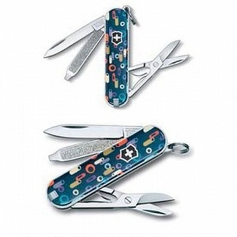 Нож брелок Classic Roaring Sixties Victorinox (0.6223.L1106)