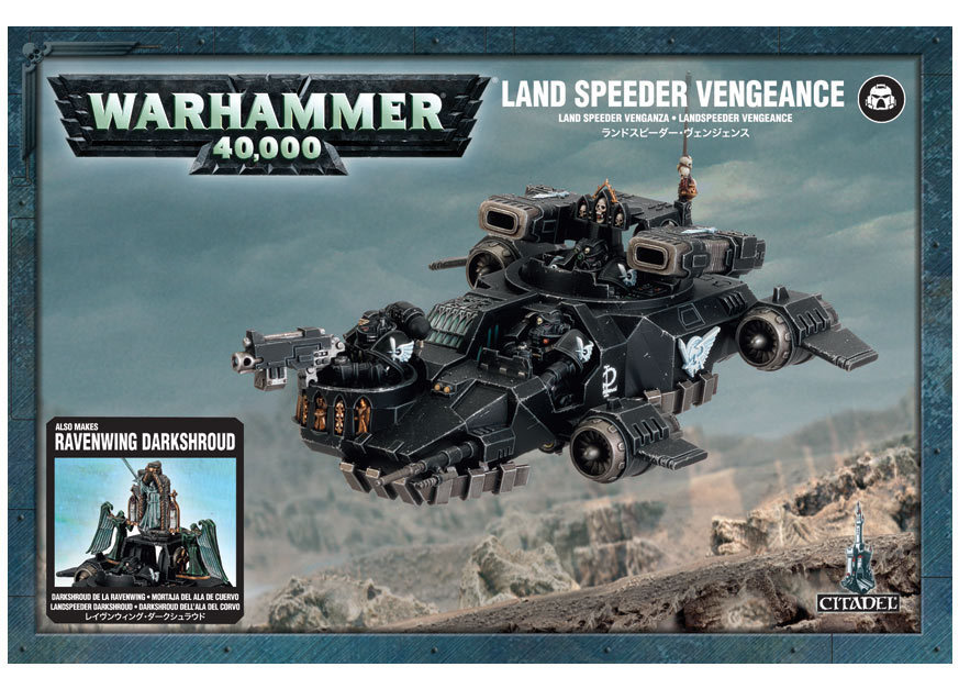 Land Speeder Vengeance