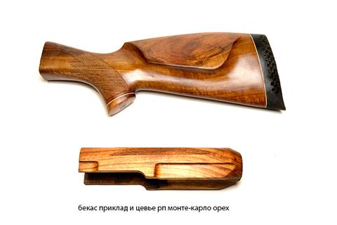 бекас приклад и цевье рп монте-карло орех