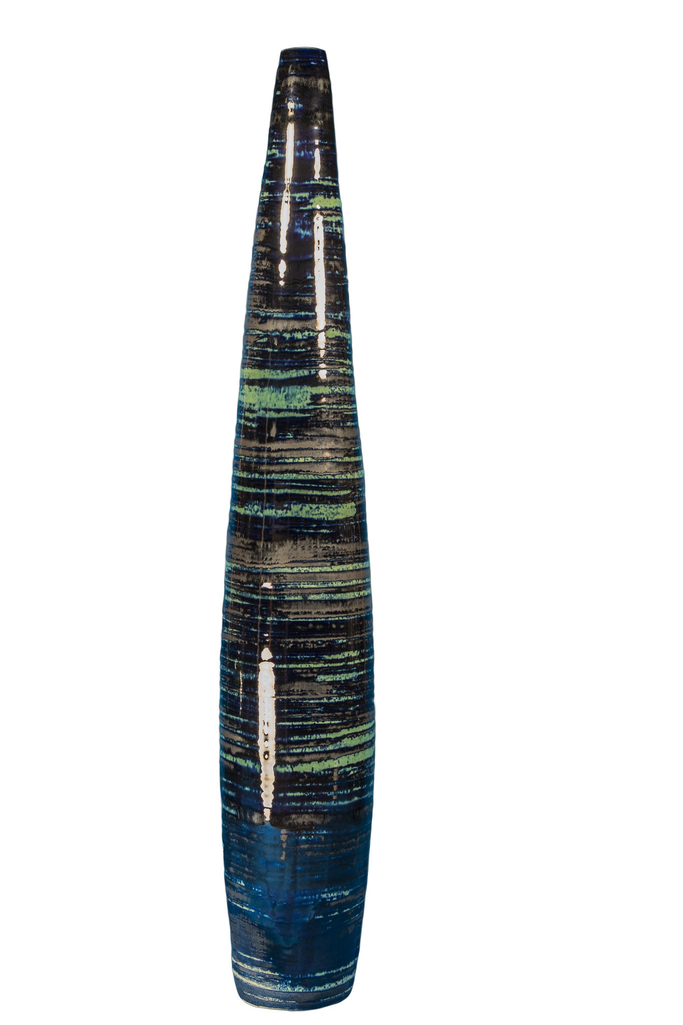 Элитная ваза декоративная Maelstrom высокая от S. Bernardo
