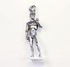 "Подвеска Quest Beads ""Статуя Давида"" 3D (цвет-античное серебро) 29х9 мм"