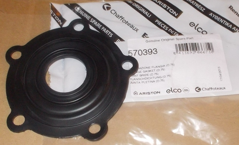 Фланцевая прокладка для водонагревателя Ariston (Аристон) - 570393, 290108 - D.75
