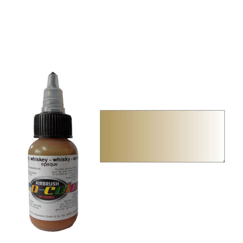 60020 Краска для аэрографии Pro-Ccolor Whiskey (ВИСКИ) 30мл. укрывистый