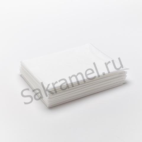 Простыня SMS комфорт (SMS, белый, 200х80 см, 20 шт/упк, штучно)
