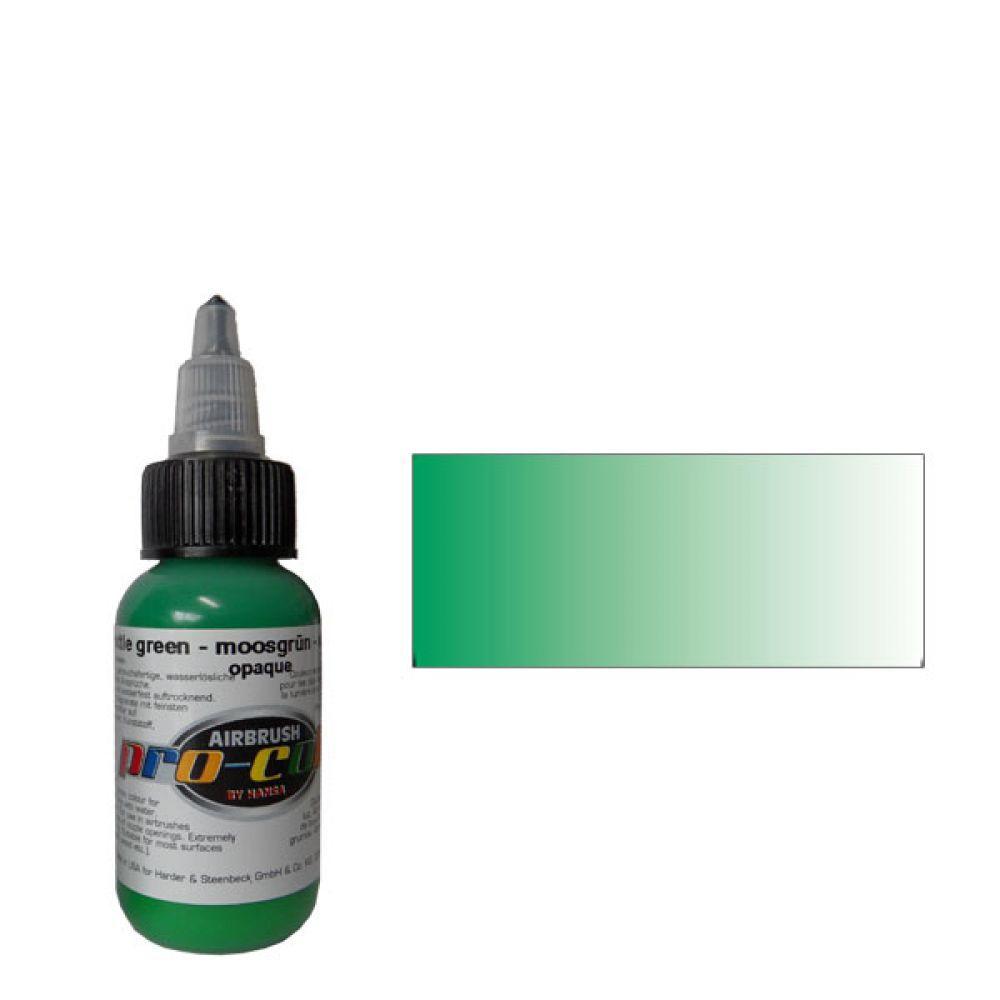 60016 Краска для аэрографии Pro-Color Bottle Green (БУТЫЛОЧНО-ЗЕЛЕНЫЙ) 30мл. укрывистый