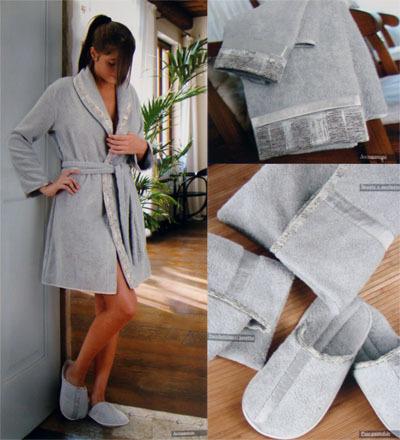 Элитный халат махровый Souise от Timas