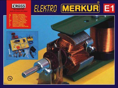 Merkur М-3116 Металлический конструктор E1 - Магнетизм