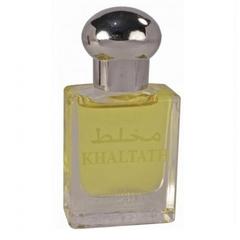 Духи натуральные масляные KHALTATH / Хальтат / унисекс / 15мл / ОАЭ/Al Haramain