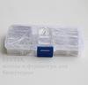 Набор пинов-гвоздиков (примерно 2050 шт) в контейнере (цвет - серебро) 20-46х0,8 мм