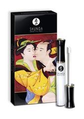 Блеск для губ для оральных ласк Shunga (Шунга), Божественное удовольствие. Клубника и шампанское 10МЛ.