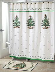 Шторка для ванной 183x183 Avanti Spode Christmas Tree