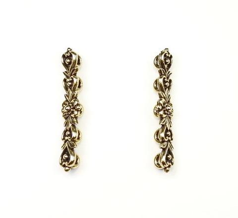 """Разделитель на 5 нитей Quest Beads """"Цветок"""" (цвет-античное золото) 33х7х5 мм ()"""