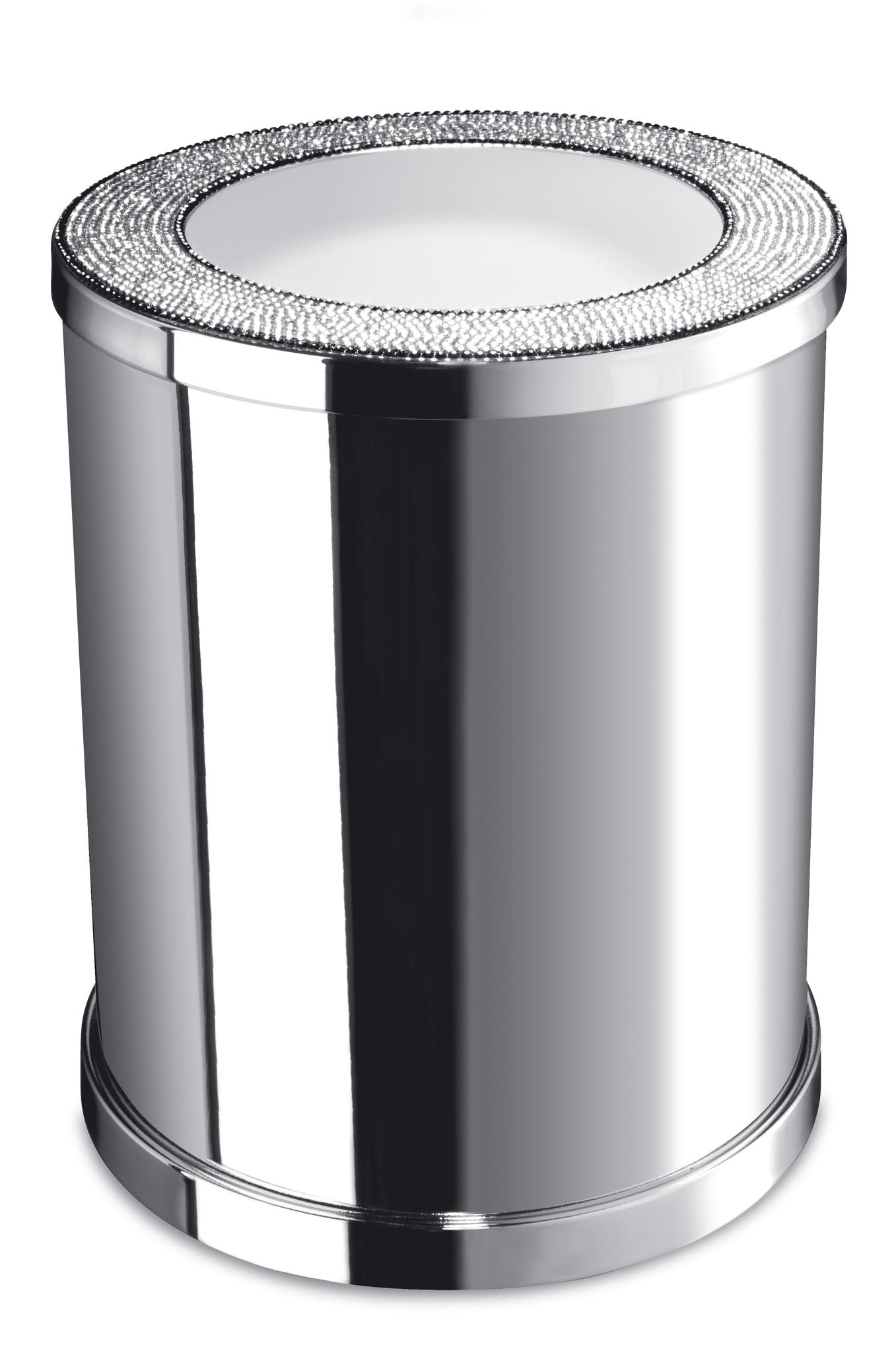 Ведра для мусора Ведро для мусора без крышки 89159CR Starlight от Windisch korzina-dlya-musora-bez-kryshki-2-forma-89159-starlight-ot-windisch-ispaniya.jpg