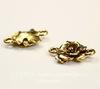 """Коннектор (1-1) Quest Beads """"Цветок"""" (цвет-античное золото) 17х12 мм ()"""