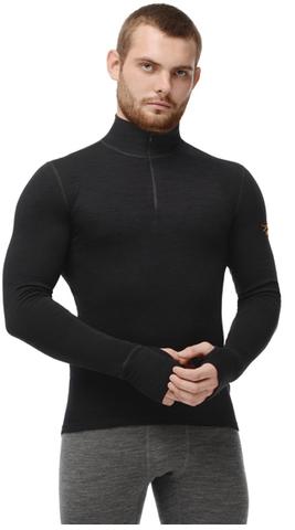 Термобелье Рубашка Norveg Hunter с длинным рукавом чёрная