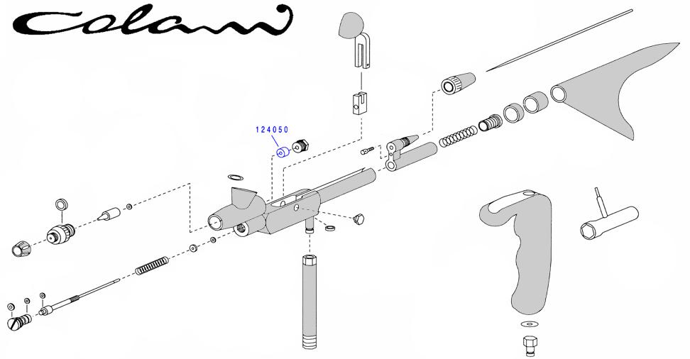 Уплотнение иглы для COLANI (4 шт.)