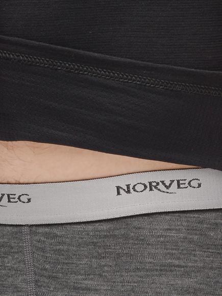 Терморубашка Norveg Hunter с длинным рукавом и высоким воротом на молнии