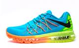 Кроссовки Мужские Nike Air Max 2015 Blue Green Orange