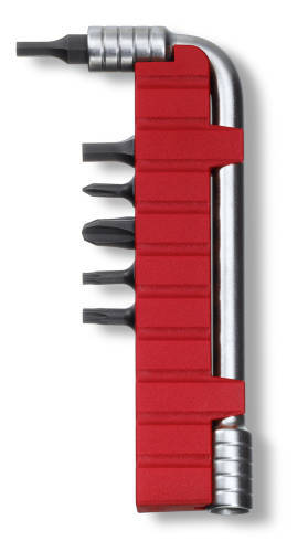 Сменный комплект насадок (ключ, держатель, 6 бит) для SwissTool Plus (3.0238, 3.0239, 3.0338, 3.0339