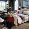 Постельное белье 2 спальное евро Casual Avenue Rhode Island темно-серое