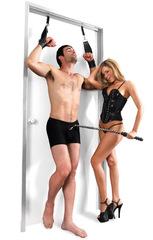 Наручники с креплением на дверь - Deluxe Door Cuffs