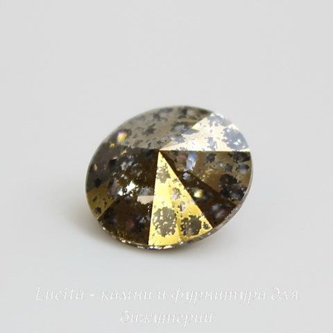 1122 Rivoli Ювелирные стразы Сваровски Crystal Gold Patina (SS39) 8,16-8,41 мм ()