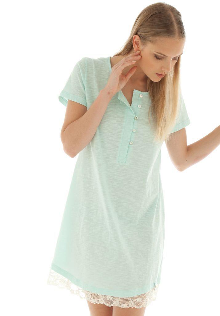 Легкая ночная сорочка Rebecca & Bros (Домашние платья и ночные сорочки)