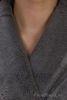 Элитный халат махровый Sultan серый от Hamam