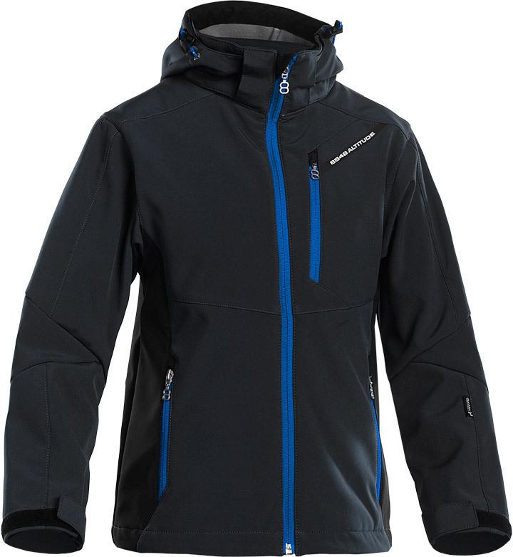 Детская лыжная куртка 8848 Altitude Apex JR Softshell Black детская (839608)
