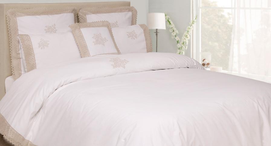 Комплекты Постельное белье 1.5 спальное Luxberry Rose белое elitnoe-postelnoe-belie-rose-ot-luxberry.jpg