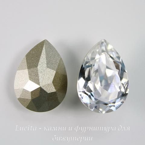 4320 Ювелирные стразы Сваровски Капля Crystal (18х13 мм)