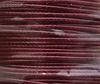 Шнур вощеный, 1 мм, цвет - бордовый, примерно 85 м ()