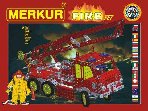 Мет.конструктор Merkur FIRE Set