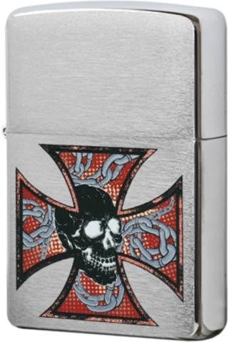 Зажигалка Zippo Skull&Cross (200)