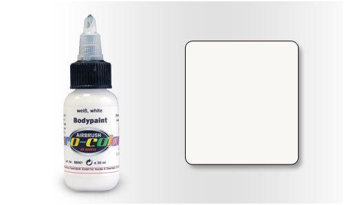 68001 Краска для Бодиарта Pro-Color White (Белый) 30мл.