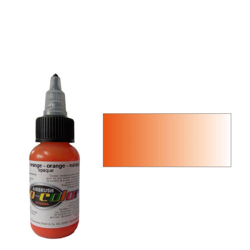 60004 Краска для аэрографии Pro-Color Orange (ОРАНЖЕВЫЙ) 30мл. укрывистый