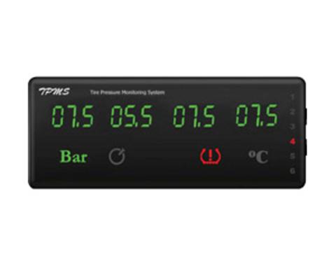Датчики давления в шинах (TPMS) для грузовых автомобилей ParkMaster TPMS 6-08 с 6-ю встраиваемыми датчиками