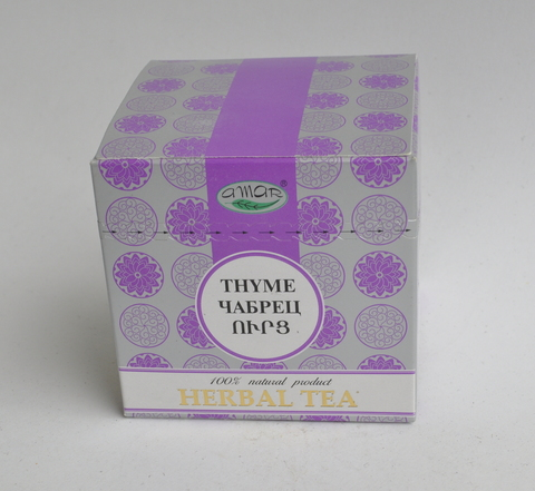 Чай травяной Чабрец Амар, в пакетиках 20х2г